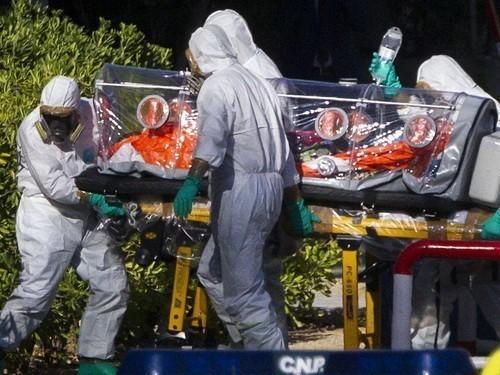 первый случай заражения Эбола