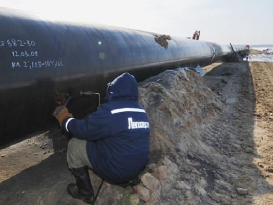 за счет перевалки российских углеводородов