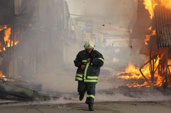 сгорело семь человек
