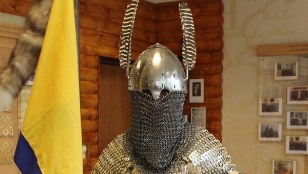 костюм древнетюркского воина