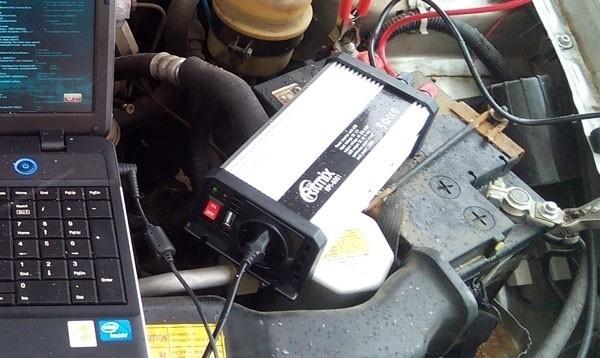 Автомобильный инвертер Ritmix RPI-6001