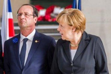 Олланд и Меркель поехали к Путину