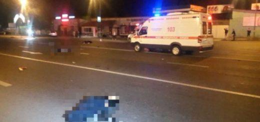 «БМВ» сбил четырех пешеходов