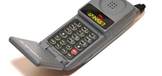 «древние» мобильные телефоны
