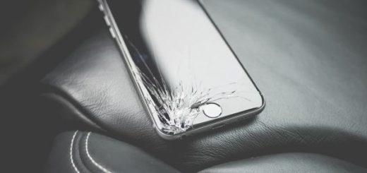 разбитые экраны на iPhone