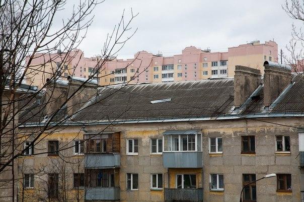 сорвало фрагмент крыши
