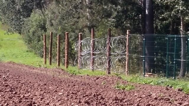строительство пограничного ограждения