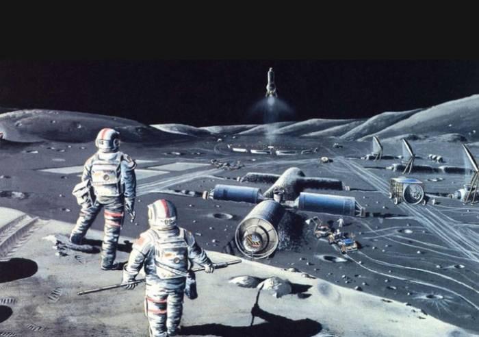 приготовления к пилотируемой миссии на Луну