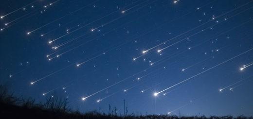 звездный дождь Персеиды