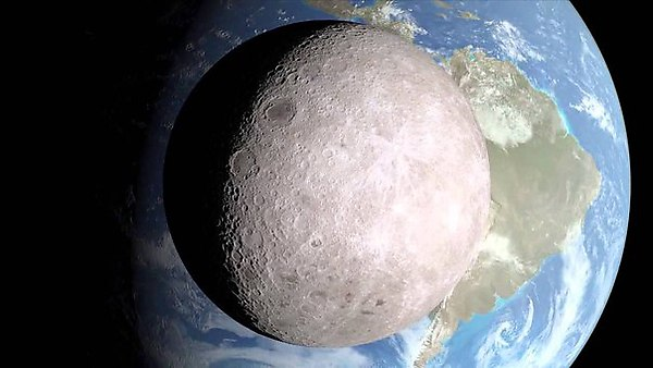 данные о возникновении Луны