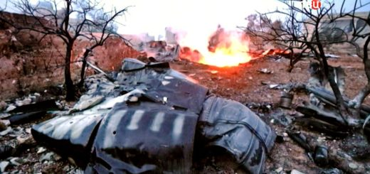 В Сирии сбит российский Су-25