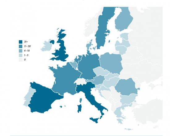 Сколько умных городов в Европе