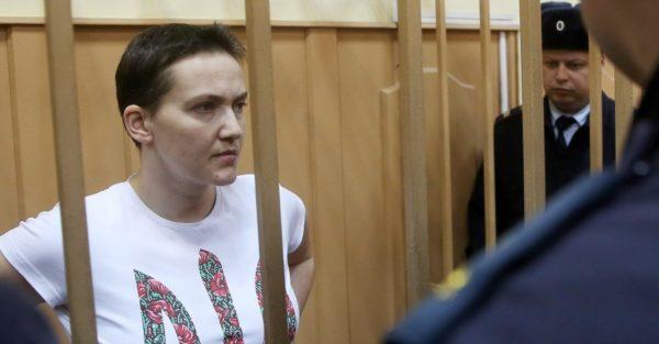арест Надежды Савченко