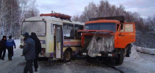 столкновение микроавтобуса Мерседес Спринтер и грузовика MAN