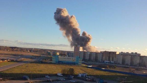Взрыв на заводе Авангард