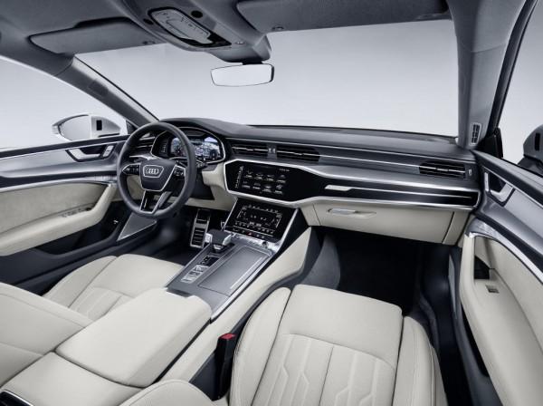 Audi A7 Sportback фото салона