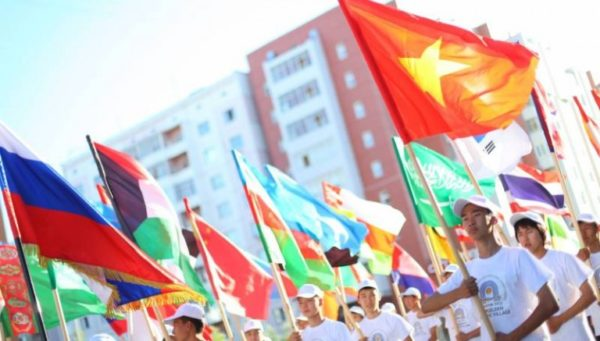 международные игры «Дети Азии