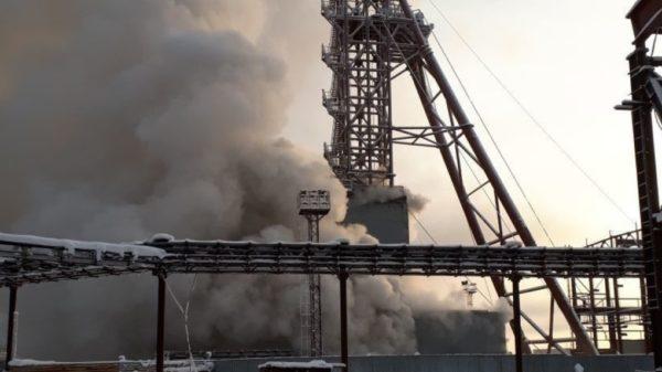 """на """"Соликамск-3"""" возник пожар"""
