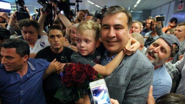 Экс-президент Грузии и бывший глава Одесской облгосадминистрации Михаил Саакашвили