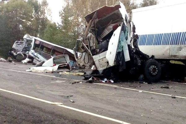 ДТП на трассе Иваново - Ярославль