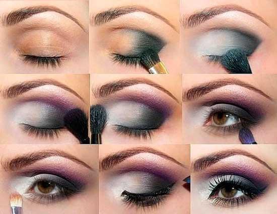 Как красить тенями глаза, в зависимости от их формы